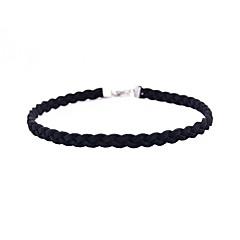 preiswerte Halsketten-Damen Einzelkette Halsketten - Personalisiert, Europäisch, Modisch Handgemacht Weiß, Schwarz, Grau Modische Halsketten Schmuck Für Party, Alltag, Normal