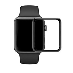 abordables Protectores de Pantalla para Apple Watch-Protector de pantalla Para 38mm iWatch 42mm iWatch Vidrio Templado Borde Curvado 2.5D 1 pieza