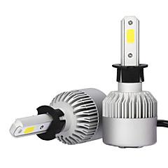 Недорогие Автомобильные фары-2pcs H3 Автомобиль Лампы 36W COB 3600lm Налобный фонарь