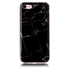 Недорогие Кейсы для iPhone 5с-Кейс для Назначение Apple iPhone 7 / iPhone 7 Plus IMD Кейс на заднюю панель Мрамор Мягкий ТПУ для iPhone 7 Plus / iPhone 7 / iPhone 6s Plus