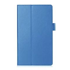 preiswerte Tablet-Hüllen-Hülle Für Lenovo Ganzkörper-Gehäuse / Tablet-Hüllen Solide Hart PU-Leder für