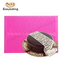 お買い得  ベイキング用品&ガジェット-装飾用具 レース キャンディのための チョコレート ピザ パイ Cupcake クッキー ケーキ Other シリコーンゴム シリコーン エコ DIY バレンタイン・デー ウェディング 高品質
