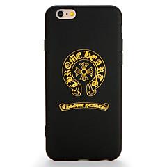 Недорогие Кейсы для iPhone 7-Для apple iphone 7 7 плюс футляр для чехлов задняя крышка case word / фраза soft tpu 6s plus 6plus 6s 6