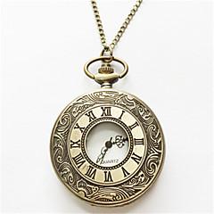 abordables Relojes Mecánicos-Hombre Reloj de Bolsillo Aleación Banda Plata / Dorado