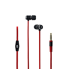 Bingle i807 mobiele oortelefoon voor computer in-ear bedrade metalen 3,5 mm met microfoon geluid-annulering