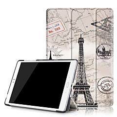 お買い得  タブレット用ケース-ケース 用途 Asus フルボディーケース タブレットケース ハード PUレザー のために