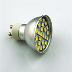 3W GU10 Spot LED 29 SMD 5050 350 lm Blanc Chaud Blanc Froid K Décorative AC220 V