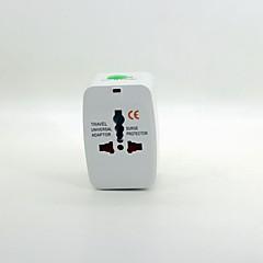 preiswerte Batterieadapter-Universal-Reisenetzteil mit Überspannungsschutz
