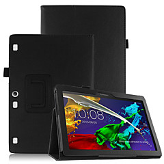 PU Case Cover for Lenovo Tab3 Tab 3 10 Business X70F TB3-X70F X103F with Screen Protector