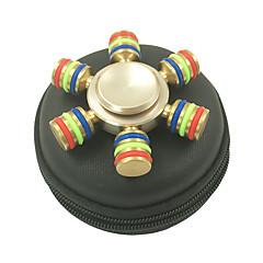 Fidget Spinners Przędzarka ręczna Zabawki Sześć Spinner Wysoka prędkość Stres i niepokój Relief Zabawki biurkowe Zwalnia ADD, ADHD,