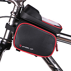 Bike Frame Bag Cell Phone Bag 5 inch Waterproof Waterproof Zipper Wearable Multifunctional Touch Screen Cycling for Iphone 8 / 7 / 6S / 6