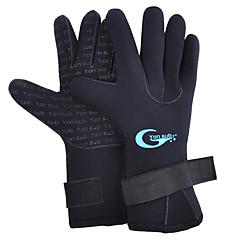 Γάντια Κατάδυση Ολόκληρο το Δάχτυλο Γιούνισεξ Ανθεκτικό στη φθορά Καταδύσεις Spandex