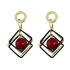 povoljno Ženski nakit-Žene Viseće naušnice - Osnovni, Slatka Style Obala / Crvena Za Dnevno / Kauzalni