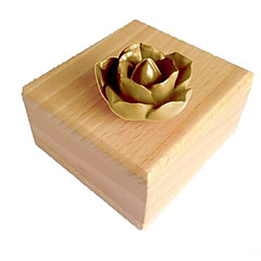 Music Box Zabawki Kwadrat Kaczka Żywica Drewniany Sztuk Dla obu płci Prezent