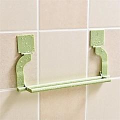 1db zökkenőmentes paszta perforáció szabad törülközőtartó lóg törölköző konyha wc fürdőszoba törülközőtartó véletlenszerű szín