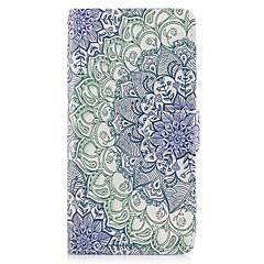 Etui Käyttötarkoitus Samsung Galaxy A5(2017) A3(2017) Lomapkko Korttikotelo Tuella Flip Kokonaan peittävä Mandala Kova PU-nahka varten A3