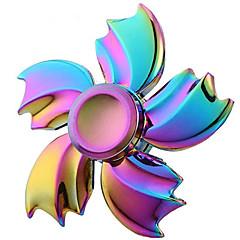 voordelige Fidget spinners-Hand Spinner Speeltjes Stress en angst Relief Aluminum Alloy Stuks Meisjes Man Geschenk