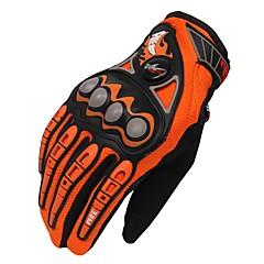 Activiteit/Sport Handschoenen Unisex Fietshandschoenen Wielrenhandschoenen Ademend Beschermend Lange Vinger Doek Fietshandschoenen