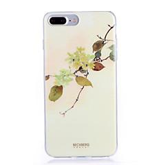 Недорогие Кейсы для iPhone 7-Кейс для Назначение Apple iPhone 7 Plus iPhone 7 С узором Кейс на заднюю панель дерево Мягкий ТПУ для iPhone 7 Plus iPhone 7 iPhone 6s
