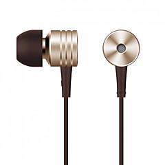 お買い得  ヘッドセット、ヘッドホン-Xiaomi 耳の中 ケーブル ヘッドホン Aluminum Alloy 携帯電話 イヤホン ノイズアイソレーション / マイク付き / ボリュームコントロール付き ヘッドセット