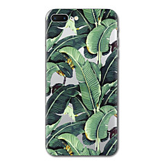 Назначение iPhone X iPhone 8 Чехлы панели Прозрачный С узором Задняя крышка Кейс для дерево Мягкий Термопластик для Apple iPhone X iPhone