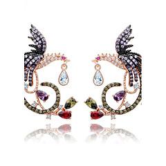 Damskie Kolczyk Biżuteria Unikalny euroamerykańskiej biżuteria kostiumowa Modny Cyrkon Stop Biżuteria Biżuteria Na Ślub Urodziny Party /