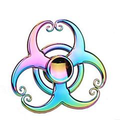 tanie Fidget Spinners-Fidget Spinners Przędzarka ręczna Bączek Zabawki Zabawki Tri-Spinner Pierścień przędzarki Przekładnia przędzarki Zabawki Wysoka prędkość