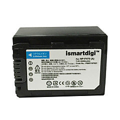 ismartdigi FH70 7.2V 2200mAh kamera akkumulátor Sony HDR-SR10E DCR-SR35E DCR-SR36E DCR-SR55E
