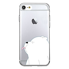 Voor iPhone X iPhone 8 Hoesje cover Patroon Achterkantje hoesje dier Cartoon Zacht TPU voor Apple iPhone X iPhone 7s Plus iPhone 8 iPhone