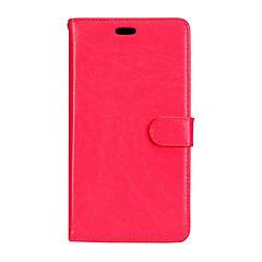 Недорогие Чехлы и кейсы для LG-Кейс для Назначение LG G2 LG G3 LG K8 LG LG K10 LG K7 LG G5 LG G4 Бумажник для карт Кошелек со стендом Флип Магнитный Чехол Твердый для