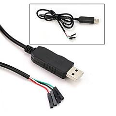 お買い得  Arduino 用アクセサリー-pl2303hx usb to tart to uart rs232 comケーブルモジュールコンバータ