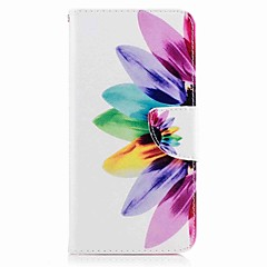 Для huawei p10 plus p10 lite чехол чехол карта держатель кошелек с подставкой флип-патч корпус корпус корпус цветок твердый кожа pu