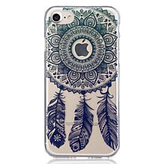 Χαμηλού Κόστους Θήκες iPhone 6 Plus-tok Για Apple iPhone 8 iPhone 8 Plus Ημιδιαφανές Με σχέδια Πίσω Κάλυμμα Ονειροπαγίδα Μαλακή TPU για iPhone 8 Plus iPhone 8 iPhone 7 Plus