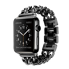 Watch Band For Apple Watch 3 38mm 42mm Stainless Steel Replacement Bracelet Butterfly Buckle