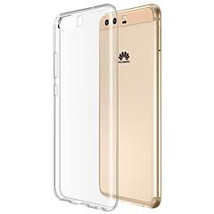 お買い得  Huawei Pシリーズケース/ カバー-ケース 用途 Huawei クリア バックカバー クリア ソフト TPU のために P10 Huawei