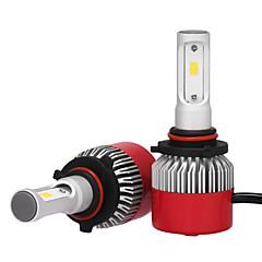 Недорогие Автомобильные фары-2pcs 9005 Автомобиль Лампы 36W Интегрированный LED 3600lm Светодиодная лампа Налобный фонарь