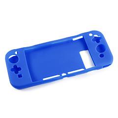 Недорогие Аксессуары для Nintendo Switch-Сумки, чехлы и накладки Назначение Nintendo Переключатель,силикагель Сумки, чехлы и накладки
