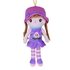お買い得  人形-ぬいぐるみ ドール ガールドール おもちゃ カトゥーン ファッション 結婚式 キュート 子供のための ソフト カートゥーン柄 ウェディング 装飾用 ファッション 女の子用 1 小品