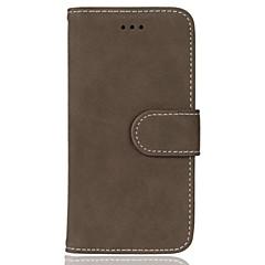 Для iphone 7 плюс 7 девять карт ретро скраб pu кожаный кошелек отсек для телефона 6s плюс 6s 6 se 5s 5