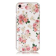 お買い得  iPhone 5S/SE ケース-EFORCASE ケース 用途 iPhone 5 / Apple IMD / パターン バックカバー フラワー ソフト TPU のために iPhone SE / 5s / iPhone 5