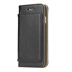 Для яблока iphone 7 плюс 7 pcol ® чехол для карточек держатель кошелек флип полный чехол для тела твердый цвет жесткий чехол из