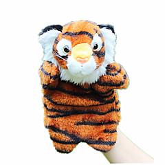 abordables Marionetas-Marionetas de dedo Marionetas Marioneta de Mano Rabbit Tiger Bonito Animales Encantador Felpa Niños Chica Juguet Regalo
