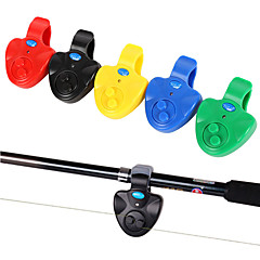 Fishing Electronic LED Light Fish Bite Sound Alarm Bell Clip On Fishing Rod