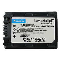 Ismartdigi fh50 7.2v μπαταρία φωτογραφικής μηχανής 1050mah για Sony hx1 a230 a330 a290 a390