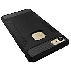 Недорогие Кейсы для iPhone-Кейс для Назначение Apple iPhone 7 / iPhone 7 Plus Защита от удара Кейс на заднюю панель Однотонный Мягкий Силикон для iPhone 7 Plus /