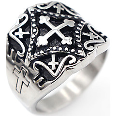 남성용 새해 맞이 보석류 십자가 의상 보석 스테인레스 Cross Shape 보석류 제품 특별한 때 일상 캐쥬얼 크리스마스 선물