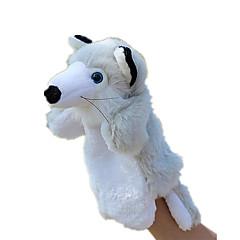 Puppen Fingerpuppe Spielzeuge Rabbit Tiere Tiere Baby Stücke