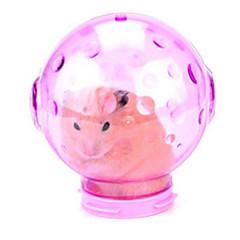 tanie Akcesoria dla małych zwierząt-Gryzonie Chomik Silikonowy Czyszczenie Niebieski Różowy