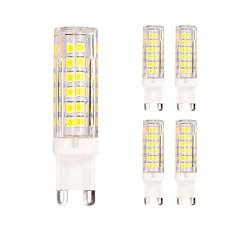 preiswerte LED-Birnen-5 Stück 4.5W 400lm G9 LED Doppel-Pin Leuchten T 75 LED-Perlen SMD 2835 Warmes Weiß Kühles Weiß 220-240V