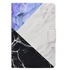 Case voor Samsung Galaxy Tab t580 t560 marmer patroon pu leer materiaal platte beschermhoes case t550 t530 t350 t330 t280